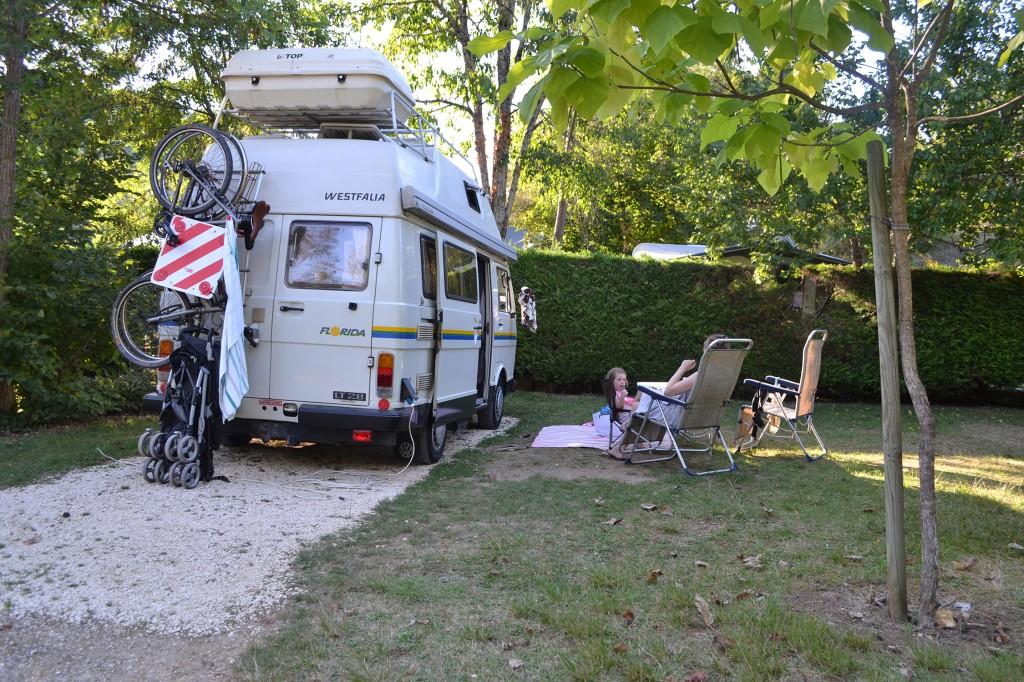 Camping Castillonderie, Dordogne