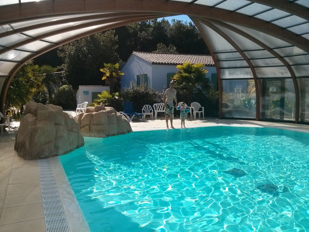Great swimming pool at Camping La Grainetiere