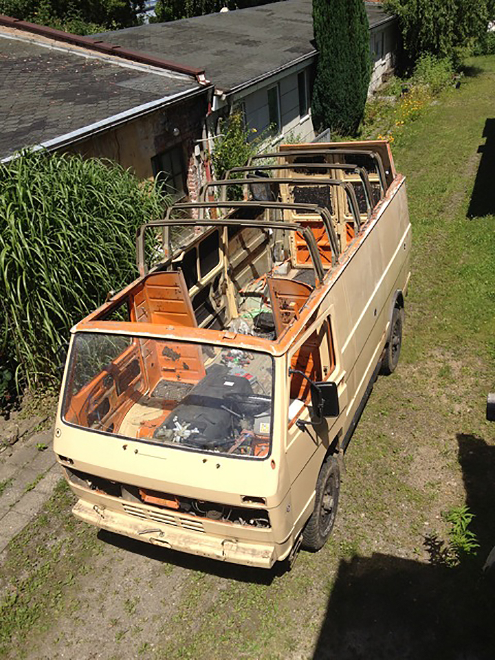 Vw Lt 4x4 High Top Camper Conversion Camper Van Man