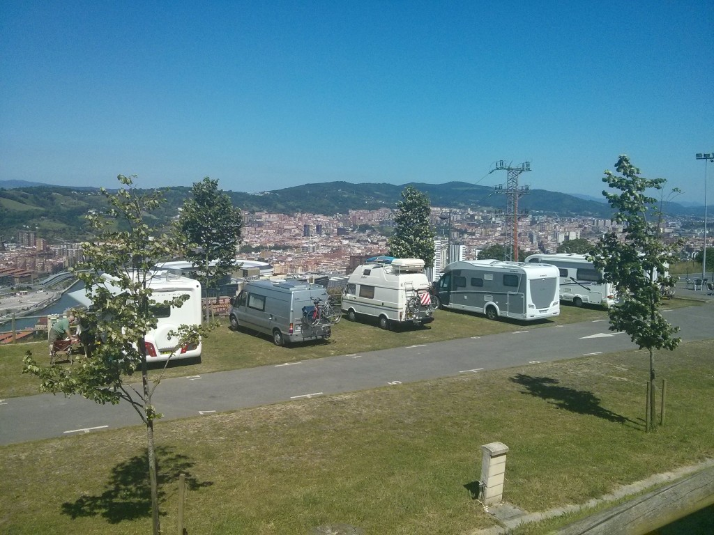 Autocaravaning Kobetamendi, Monte Kobeta, Bilbao