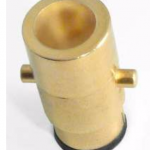Bayonet LPG gas adapter
