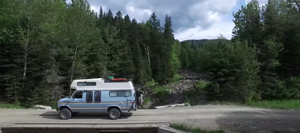 Mountain State Overland 4x4 Ford Econoline Campervan