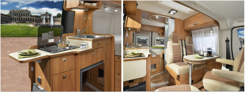 Planning A Campervan Interior - Globecar GlobeScout R