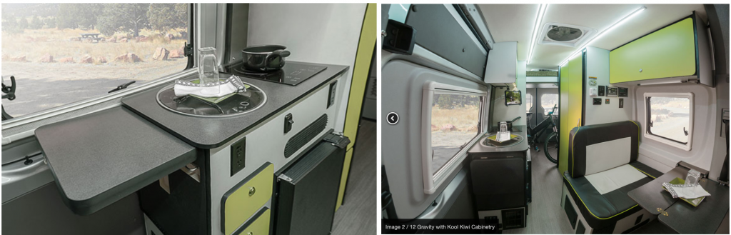 Planning A Campervan Interior - Winnebago Revel