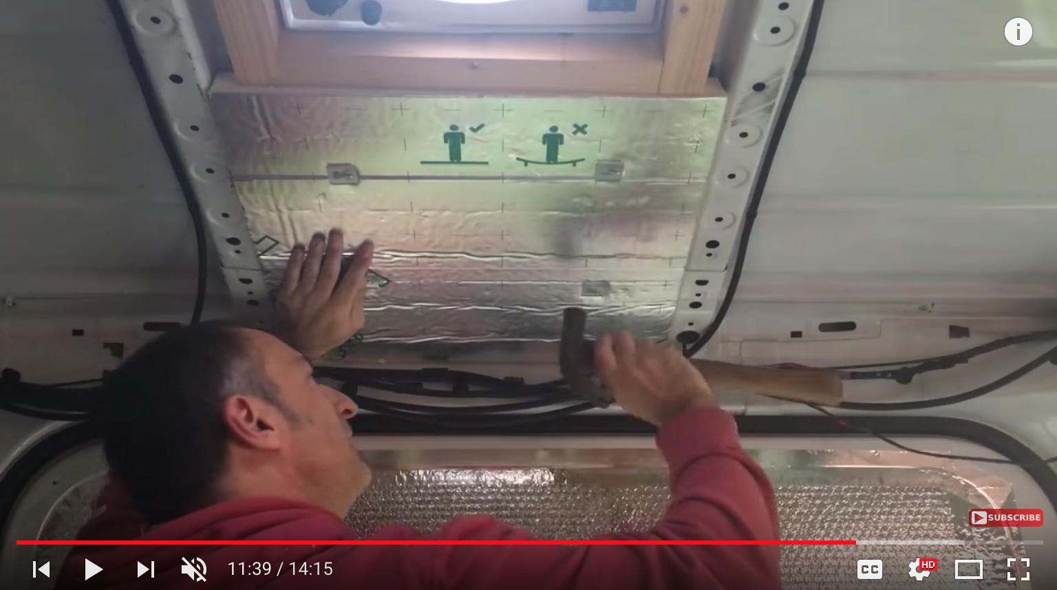Greg Virgoe camper insulation