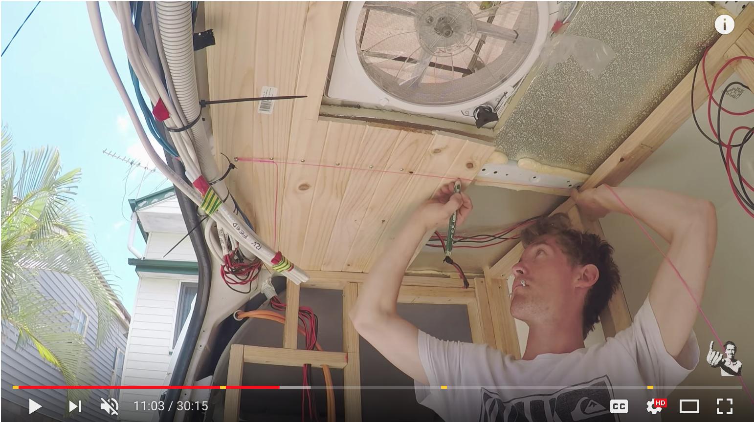 Best Practice Camper Van Conversion Build Tips   Camper Van Man